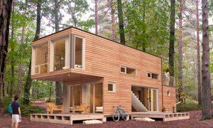 casa en madera